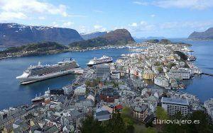 Crucero en Finlandia. zoom sobre los puertos de escala