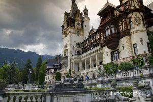 El castillo Peles de Rumanía, como llegar al Castillo Peles desde Brasov y Bucarest