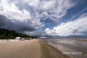 Jurmala, la playa del Báltico letón. Como llegar a Jurmala desde Riga