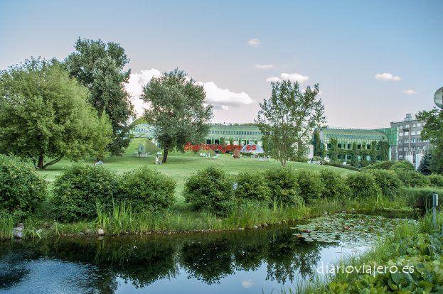 El jardín de la Universidad de Varsovia en imágenes