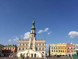 Zamosc el Renamiento en Polonia. Como llegar a Zamosc desde Lublin y Varsovia