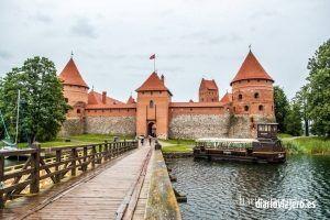 Visita al castillo de Trakai. Como ir a Trakai desde Vilnius