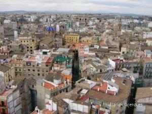 Valencia desde las torres de Quart