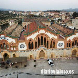 La Catedral del vino del Pinel de Brai