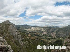 Senderismo en la Vall de la Gallinera en imágenes