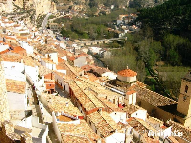 Alcalá del Júcar desde arriba
