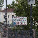 El barrio de Uzupis de Vilnius en imágenes