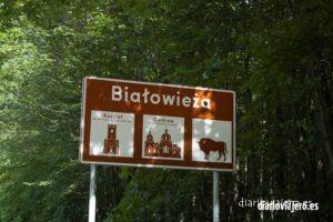 Aldeas en el bosque de Bialowieza