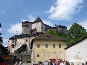 Visita al castillo de Orava. Uno de los grandes castillos de Eslovaquia