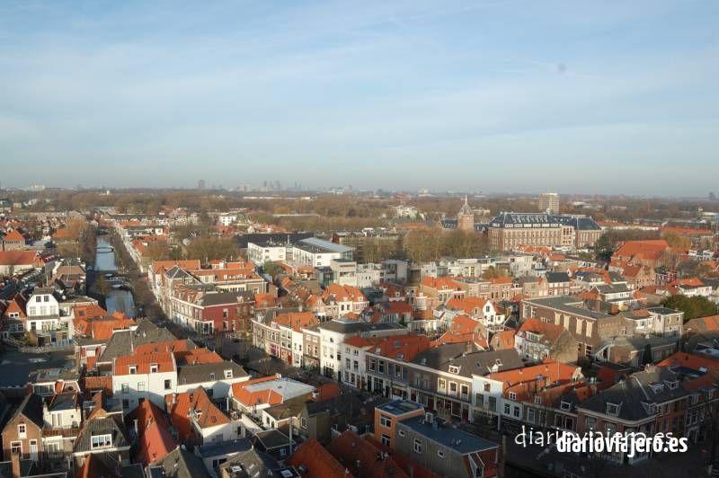 Delft desde el aire