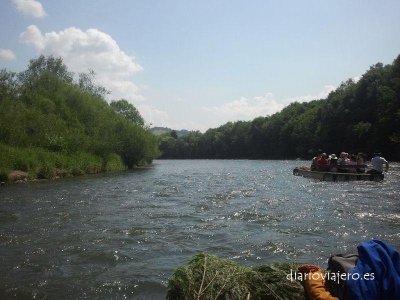 Descenso del río Dunajec en imágenes