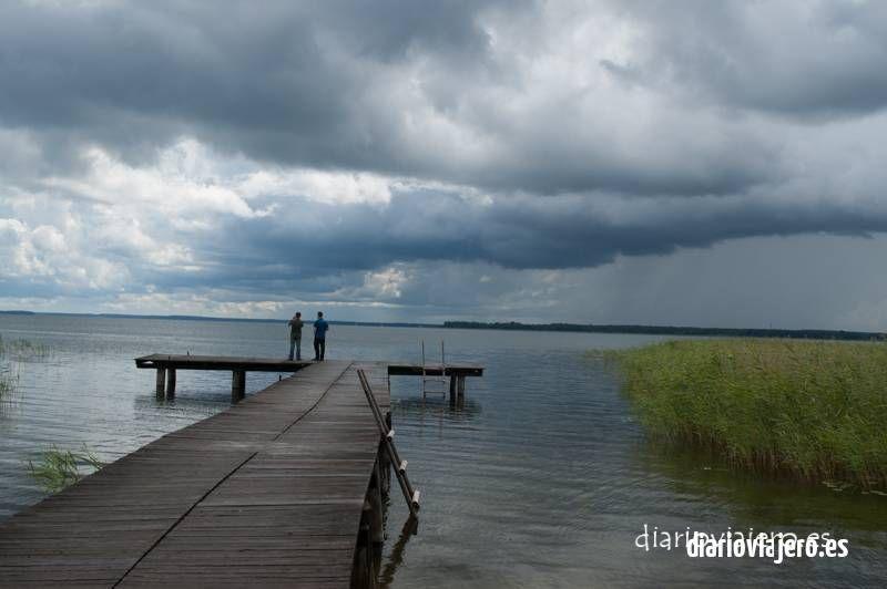 Lago Luknajno en Masuria en imágenes