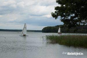 Lago Nidzkie (Krzyze) en Masuria