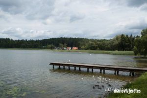 Lago Nidzkie (Zgon) en Masuria