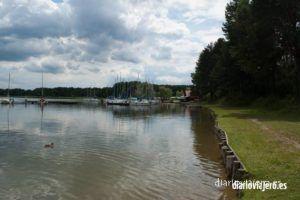 Rafting en el río Krutynia