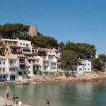 Playa de Sa Tuna en Begur en imágenes