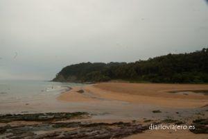 Playa de la griega de Colunga