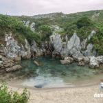Playa del Gulpiyuri en imágenes