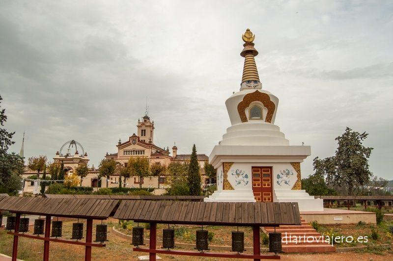 El Templo budista del Garraf en imágenes