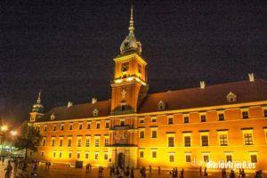 Imágenes de Varsovia nocturna