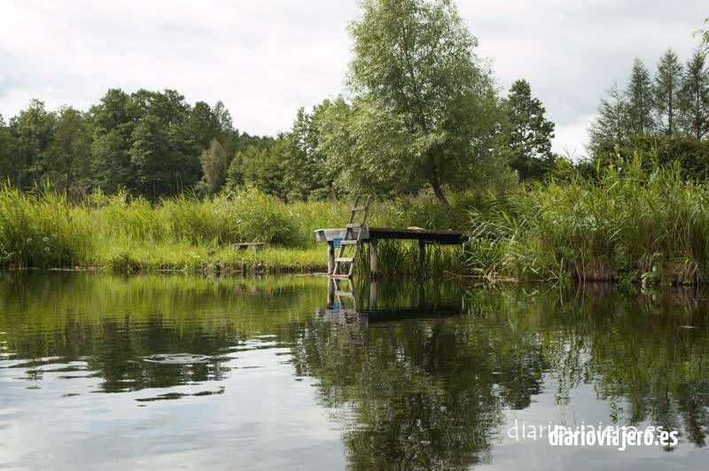 Kayak del río Krutynia en imágenes